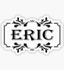 Frame Name Eric Sticker