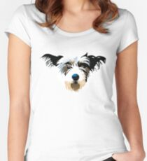 pooch Women's Fitted Scoop T-Shirt