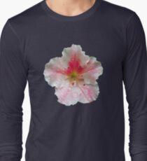 'Pink Azalea Macro' Long Sleeve T-Shirt
