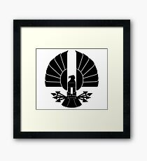 The Capitol: The Hunger Games Framed Print