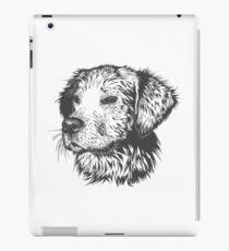 Dog head drawing iPad Case/Skin
