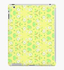 vector apples fruit seamless colorful repeat pattern iPad Case/Skin
