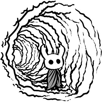 Hollow knight by Tras