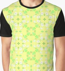 yellow vector apples seamless colorful repeat pattern Graphic T-Shirt