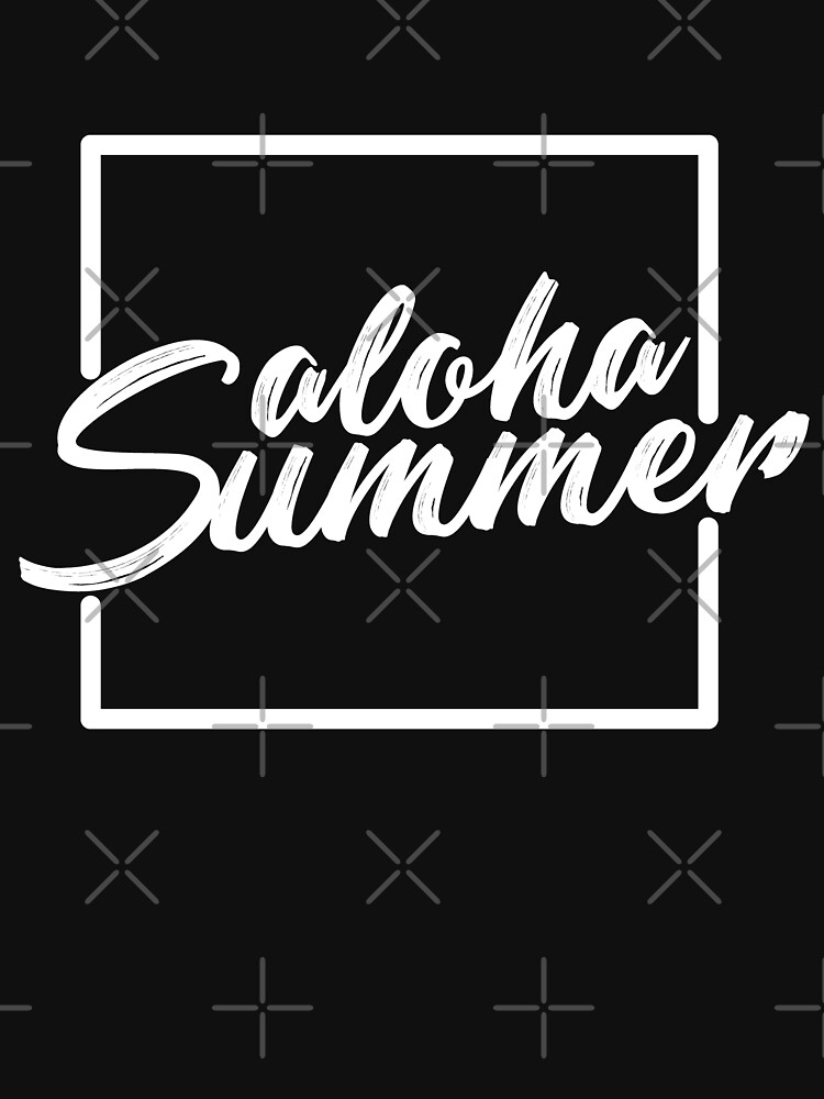 Funny Vacation Quotes | Aloha Summer Funny Vacation Hawaii Quotes White Mens Womens Tee