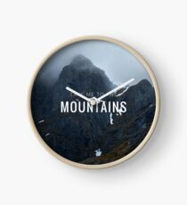 Take me to the Mountains Horloge