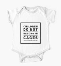 Children Do Not Belong In Cages Short Sleeve Baby One-Piece