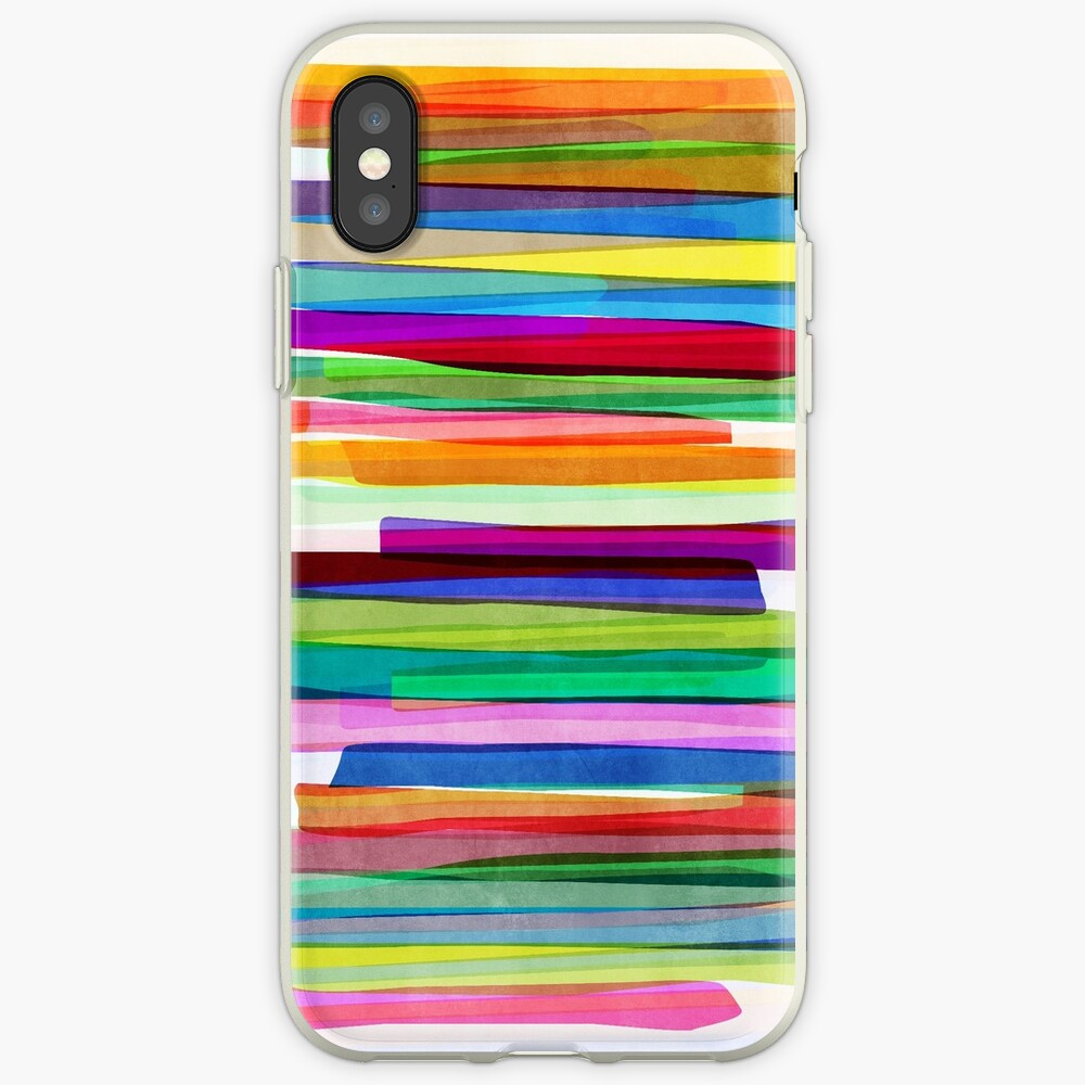 Colorful Stripes 1 iPhone-Hüllen & Cover