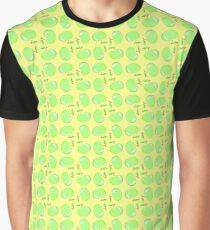 fruit yellow vector pattern seamless colorful repeat Graphic T-Shirt