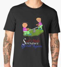 Funny Let's Make Seesaws Great Again Men's Premium T-Shirt