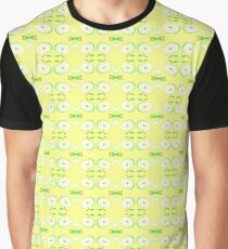 apples green vector seamless colorful repeat pattern Graphic T-Shirt