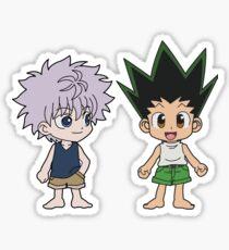 Gon and Killua Sticker