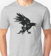 Nevermore Black Raven By Rafi Perez Slim Fit T-Shirt