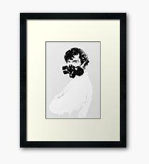 Sherlock Holmes (Mad Man) Framed Print