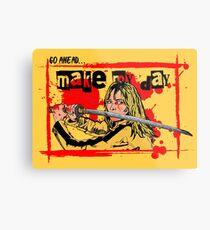 Kill Bill ~ Pop Art Comic  Metal Print
