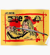 Kill Bill ~ Pop Art Comic  Poster