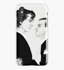 Sherlock and Jim Moriarty iPhone Case