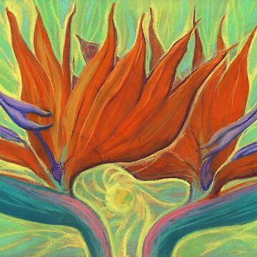 Strelitzia / Bird of Paradise by clipsocallipso