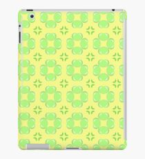 texture apples pattern green seamless colorful repeat iPad Case/Skin