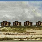 Beach Houses by Richard  Gerhard