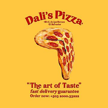 Dalí's Pizza by notordinary
