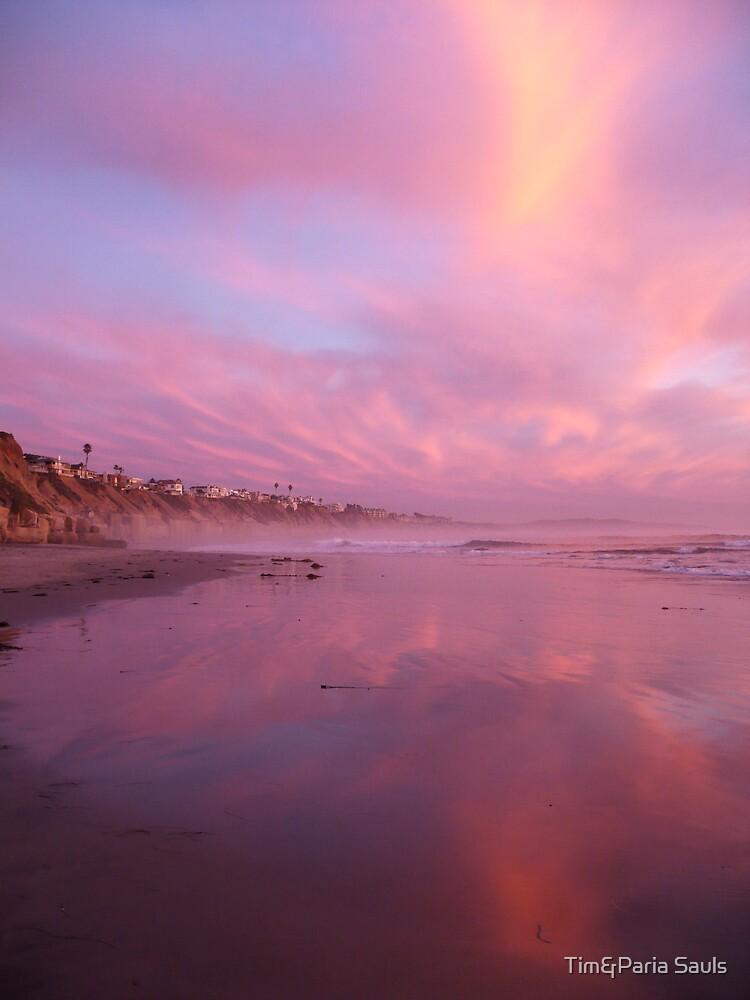 """Pink Sunset"" by Tim&Paria Sauls"