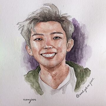 Namjoon's smile by Mint-Got-No-Jam