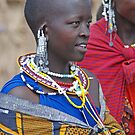 Maasai Woman ,Tanzania, Africa by Adrian Paul