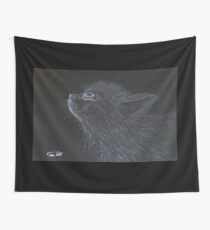 Lost Kitty Wall Tapestry