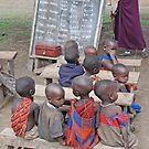 School's In! Tanzania, Africa by Adrian Paul
