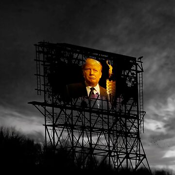Trump Billboard Outside Blue Wave City .3 by alex4444