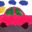 My Child's artwork! He is just 4. by Tridib Ghosh