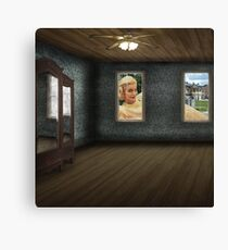 The 50's are peering in again Canvas Print