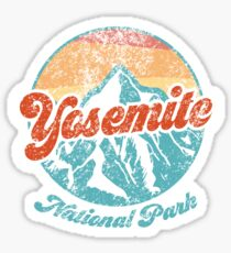 Yosemite National Park Sticker Sticker