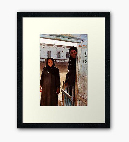 Nubian Women Framed Print