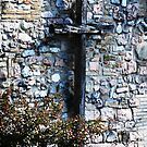 Cross by matchwood