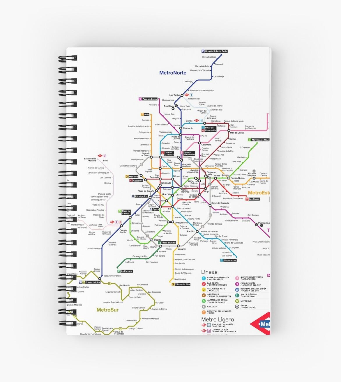 La Metro Map 2018.Madrid Metro Map Spain Update 2018 Paco De Lucia Line 9