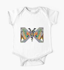 Animal Butterfly One Piece - Short Sleeve
