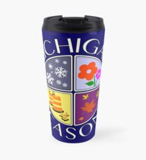 Michigan Seasons, full-color version Travel Mug