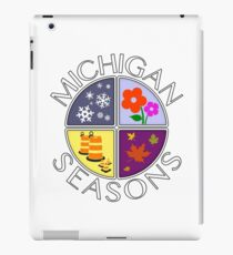Michigan Seasons, full-color version iPad Case/Skin