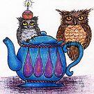 Owl Birthday by Danielle Bain