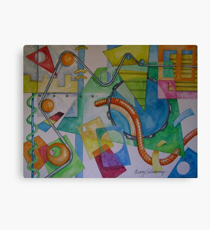 Abstract Movement 1 Canvas Print