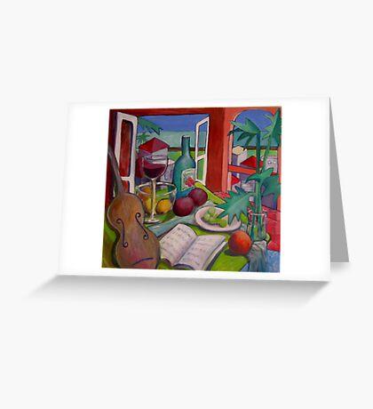 Violin Still life Greeting Card