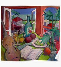 Violin Still life Poster