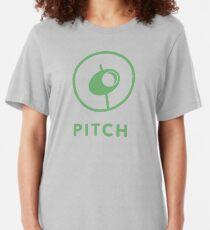 Classic Pitch Logo Slim Fit T-Shirt