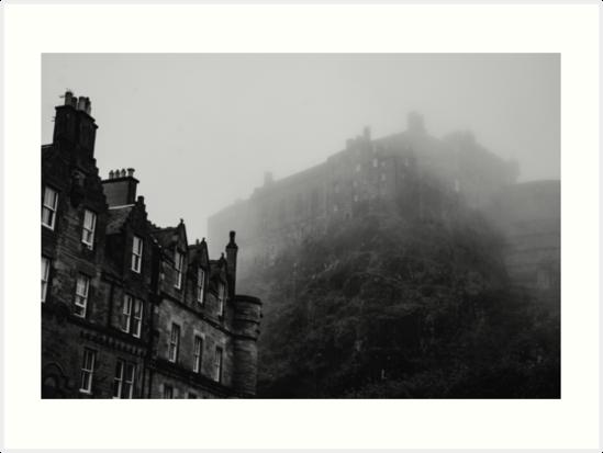«Debajo del castillo brumoso» de Errne