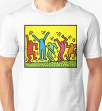 Keith Haring 'Dance Party' Unisex T-Shirt