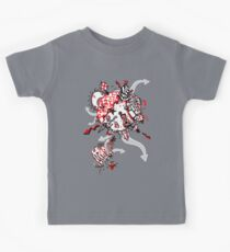 Red Carbon Sands Kids Tee
