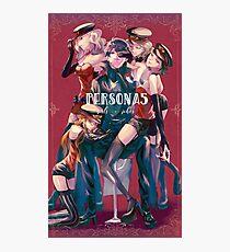 Persona 5 girls x joker Photographic Print