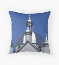 St, Nicholas, Ukrainian Orthodox Church Throw Pillow